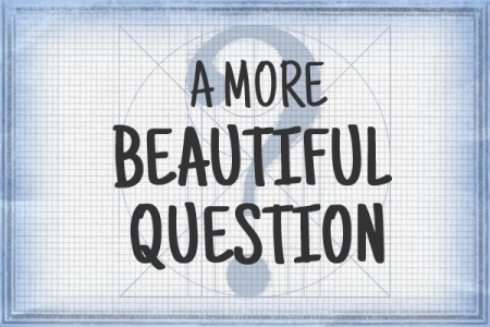 A More Beautiful Question: The Book & The Blog