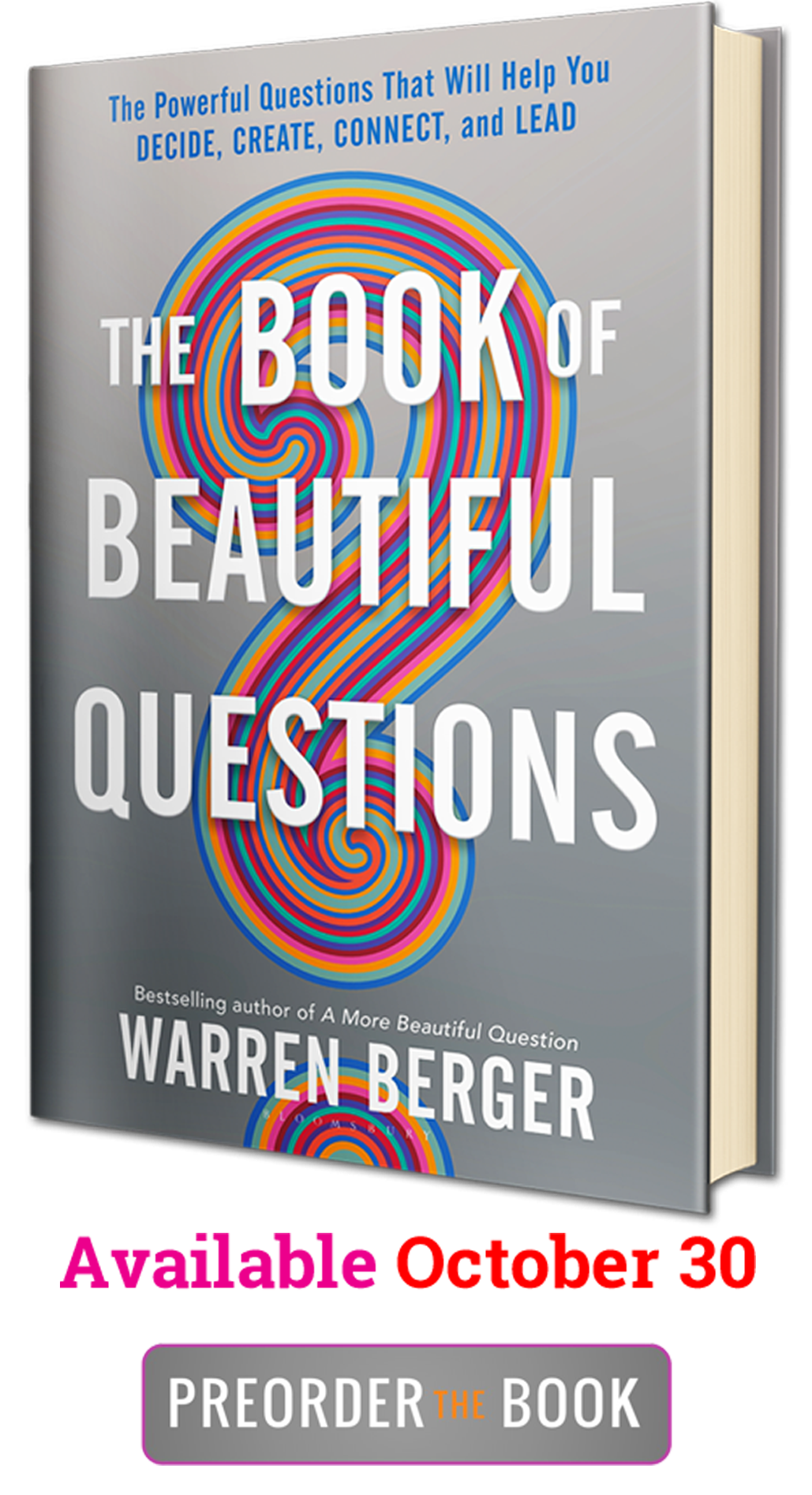 Preorder THE BOOK OF BEAUTIFUL QUESTIONS